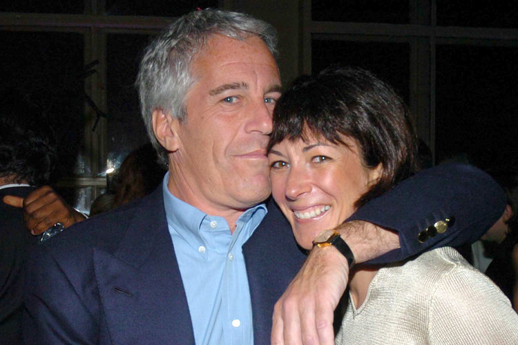 Jeffrey Epstein and Ghislaine Maxwell
