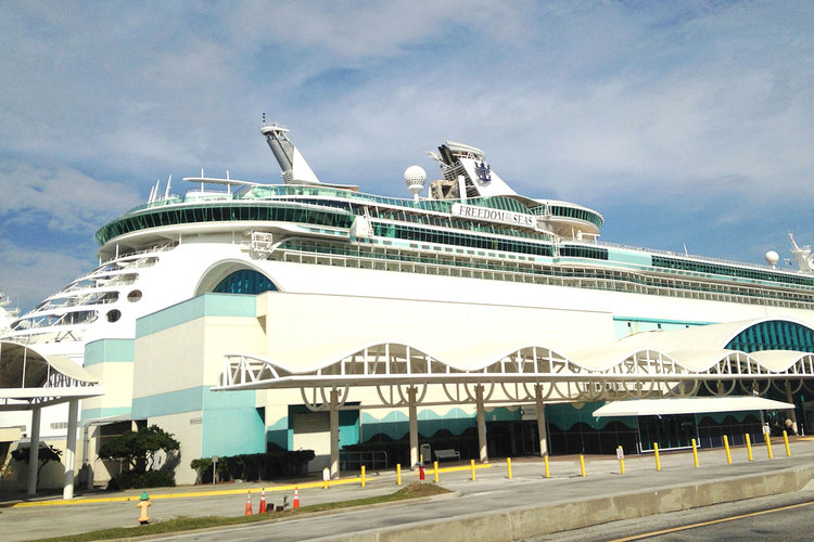 Royal Caribbean Cruise Ship G