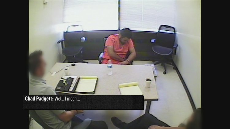 Snapped Bonus: Chad Padgett Interrogated by Investigators (Season 25, Episode 3)