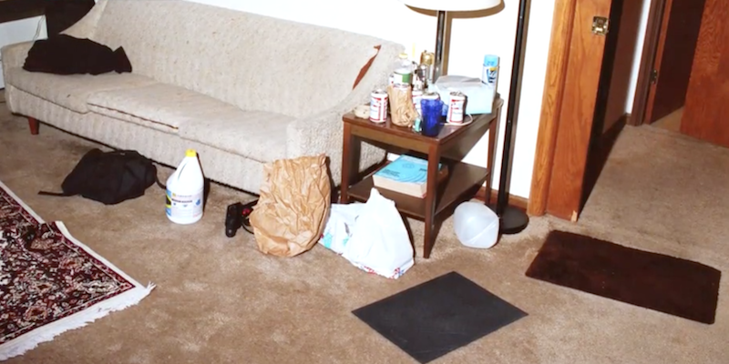 Jeffrey Dahmer Crime Scene Photos From Apartment Crime Time