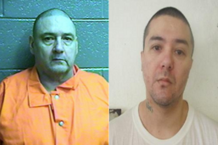 Mug shots of Anthony Palma and Raymond Pillado