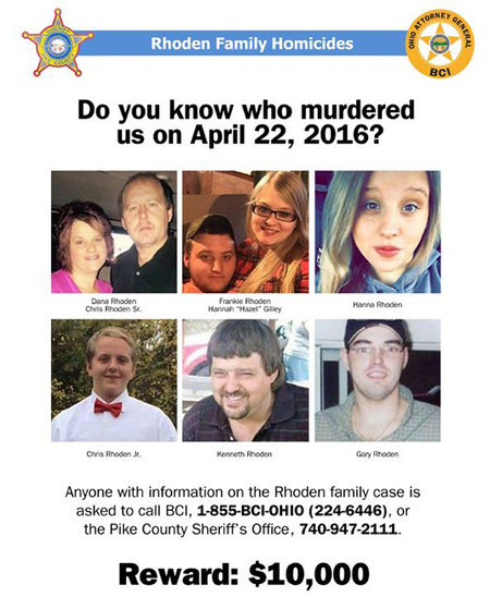 Media Handout on the Rhoden Family Homicides