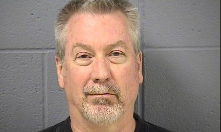 Drew Peterson seen in a 2009 booking photo.