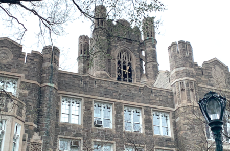 Keating Hall on the campus of Fordham College at Rose Hill.