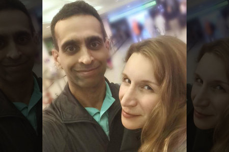 Mohammad and Elana Shamji