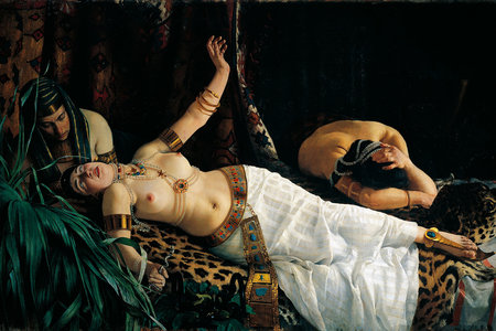 Death of Cleopatra *EMBED ONLY*