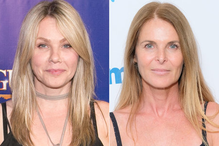 Andrea Roth and Catherine Oxenberg