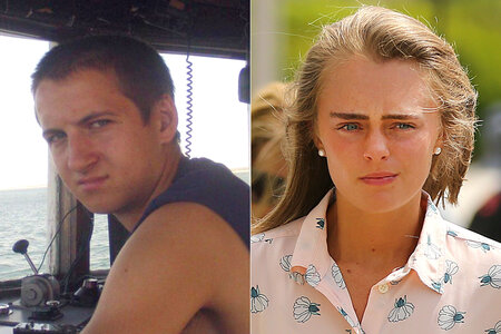 Conrad Roy and Michelle Carter