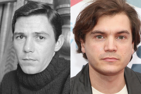 Jay Sebring and Emile Hirsch