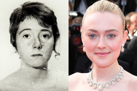 "Lynette ""Squeaky"" Fromme and Dakota Fanning"