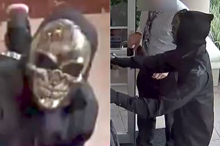 Masked Bank Robbers Pd