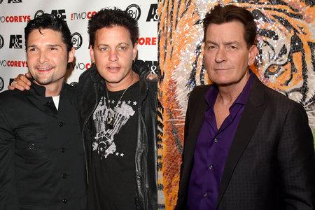 Corey Feldman Accuses Charlie Sheen Of Raping Corey Haim In New Documentary