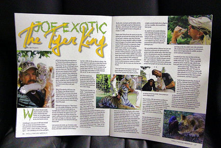 Joe Exotic Hollywood Magazine