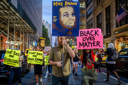 Mike Brown Protest Nyc G