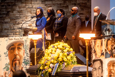Andre Hill Funeral G