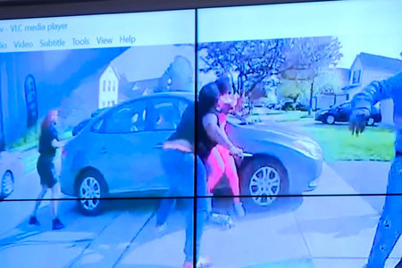 Columbus police show video of officer fatally shooting girl