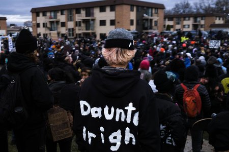 Daunte Wright protest in Minnesota