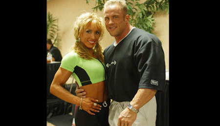 Bodybuilders Kelly Ryan And Craig Titus Taser Assistant