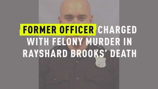 Former Atlanta officer charged in Rayshard Brooks killing surrenders to authorities