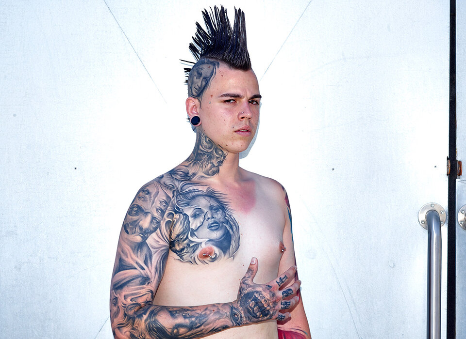 George Floyd Chest Tattoo: Dannys Personal Tattoos