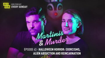 Martinis & Murder Episode #43 - Halloween Horror: Exorcisms, Alien Abduction, and Reincarnation