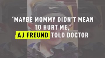 'Maybe Mommy Didn't Mean To Hurt Me,'  AJ Freund Told Doctor