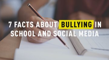 7 Facts About Bullying in School and Social Media