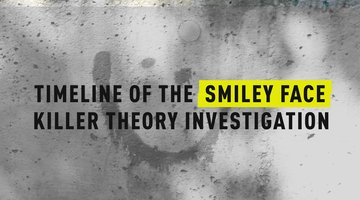 Timeline of the Smiley Face Killer Theory Investigation