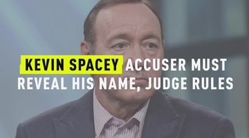 Kevin Spacey Accuser Must Reveal His Name, Judge Rules