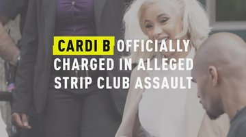 Cardi B Officially Charged in Alleged Strip Club Assault