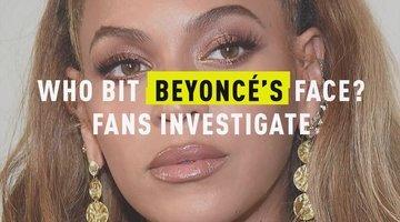 Who Bit Beyonce's Face? Fans Investigate
