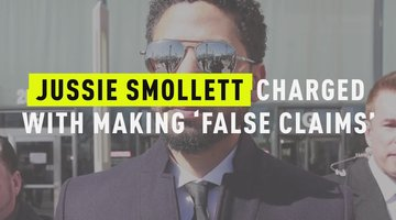 Jussie Smollett Charged With Making 'False Claims'