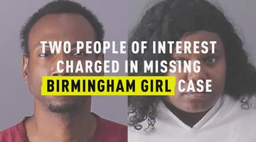 Two People Of Interest Charged In Missing Birmingham Girl Case