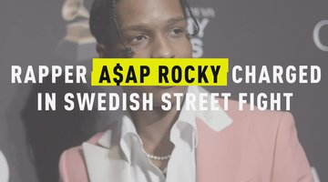 Rapper A$AP Rocky Charged in Swedish Street Fight