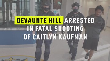 Devaunte Hill Arrested In Fatal Shooting Of Caitlyn Kaufman