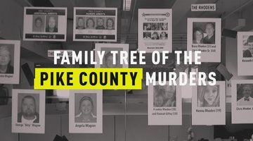 Family Tree of the Pike County Murder Investigation