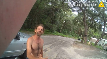 Florida Police Release Bodycam Footage of Burglary Suspect