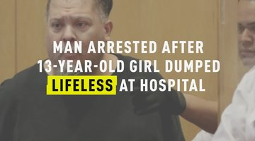 Man Arrested After 13-Year-Old Girl Dumped Lifeless At Hospital