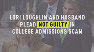 Lori Loughlin and Husband Plead Not Guilty in College Admissions Scam