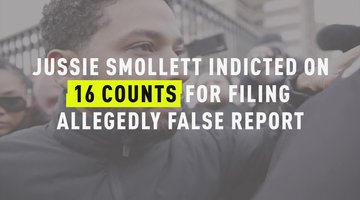 Jussie Smollett Indicted On 16 Counts Stemming From Reported Hate Crime Attack