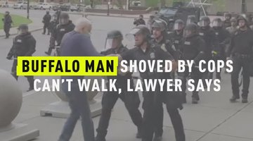 Buffalo Man Shoved By Cops Can't Walk, Lawyer Says