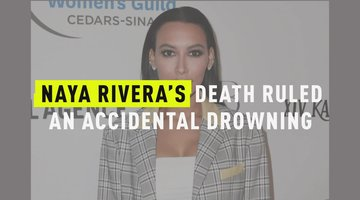 Naya Rivera's Death Ruled An Accident Drowning