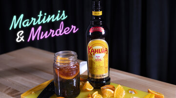 Kahlua Cold Brew Soda - Martinis & Murder Cocktails