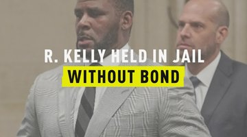 R. Kelly Held In Jail Without Bond