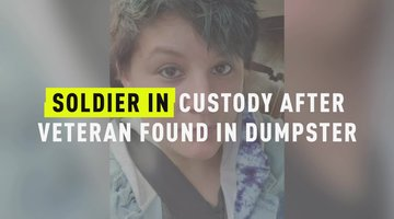 Soldier In Custody After Veteran Found In Dumpster