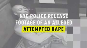 NYC Police Release Footage of an Alleged Attempted Rape