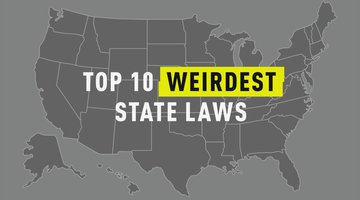 Top 10 Weirdest State Laws