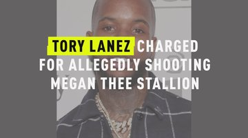 Tory Lanez Charged For Allegedly Shooting Megan Thee Stallion