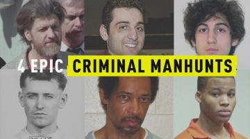 4 Epic Criminal Manhunts