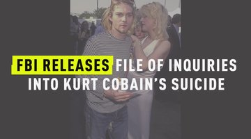 FBI Releases File Of Inquiries Into Kurt Cobain's Suicide